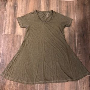 Natural life tunic dress